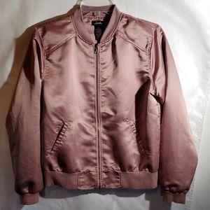 """Justify """" 🌹 Rose Gold Bomber Jacket"""